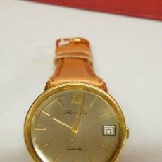 Relojes automáticos: RELOJ DE PULSERA THERMIDOR QUARZ FUNCIONANDO DE CABALLERO CORREA NUEVA. Lote 81826072