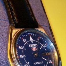 Relojes automáticos: RELOJ SEIKO 5 - AUTOMATICO. FUNCIONANDO. BUENA CONSERVACION. DESCRIPCION Y FOTOS DIVERSAS.. Lote 81918576