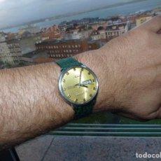 Relojes automáticos: PRECIOSO RELOJ MIDO COMMANDER DATODAY OFFICIAL CERTIFIED AUTOMATICO ACERO CALIBRE ETA 2836 VINTAGE. Lote 82120484