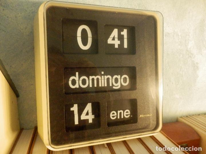 RELOJ DE PARED - FLIP-FLOP - BODET - TIPO MARCADOR - PARA BANCO / ORGANISMOS Y EMPRESAS - (Relojes - Relojes Automáticos)