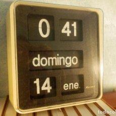 Relojes automáticos: RELOJ DE PARED - FLIP-FLOP - BODET - TIPO MARCADOR - PARA BANCO / ORGANISMOS Y EMPRESAS -. Lote 172046732
