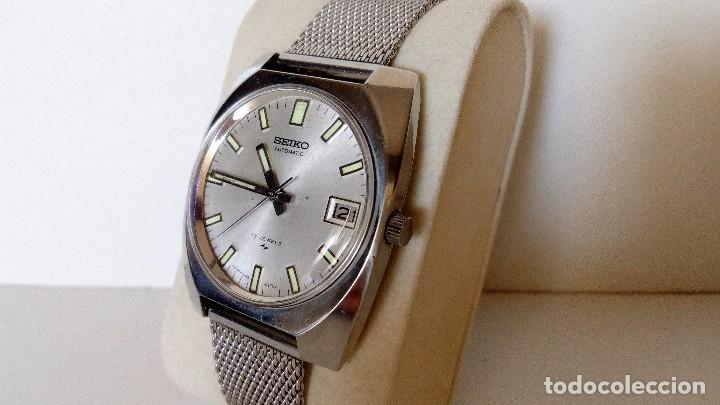 Relojes automáticos: RELOJ SEIKO AUTOMATICO 17 JEWELS SEMINUEVO MODELO 7005-8160 JAPAN REVISADO - Foto 4 - 83663952