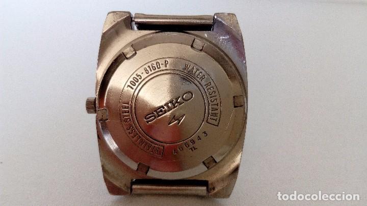 Relojes automáticos: RELOJ SEIKO AUTOMATICO 17 JEWELS SEMINUEVO MODELO 7005-8160 JAPAN REVISADO - Foto 6 - 83663952