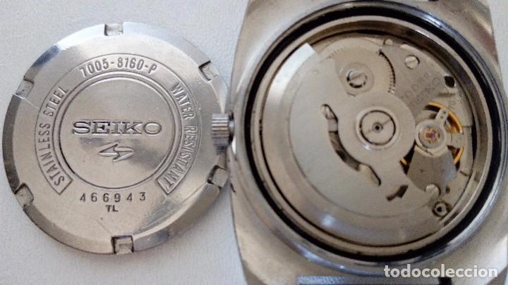 Relojes automáticos: RELOJ SEIKO AUTOMATICO 17 JEWELS SEMINUEVO MODELO 7005-8160 JAPAN REVISADO - Foto 13 - 83663952