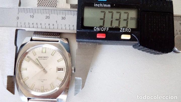 Relojes automáticos: RELOJ SEIKO AUTOMATICO 17 JEWELS SEMINUEVO MODELO 7005-8160 JAPAN REVISADO - Foto 15 - 83663952