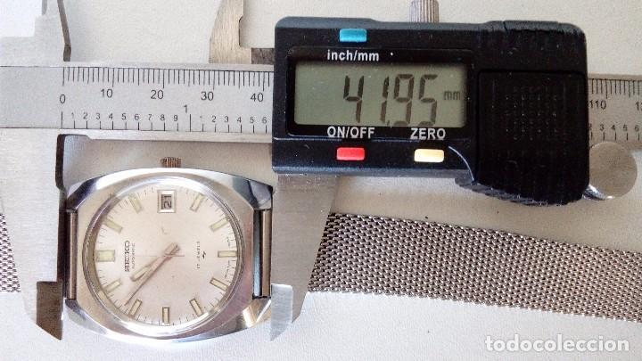 Relojes automáticos: RELOJ SEIKO AUTOMATICO 17 JEWELS SEMINUEVO MODELO 7005-8160 JAPAN REVISADO - Foto 16 - 83663952