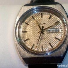 Relojes automáticos: RELOJ BULOVA. AÑOS 70. ORIGINAL. AUTOMATICO. FUNCIONANDO. 38 MM. ESFERA TESTURADA. FOTOS DIVERSAS.. Lote 29741275