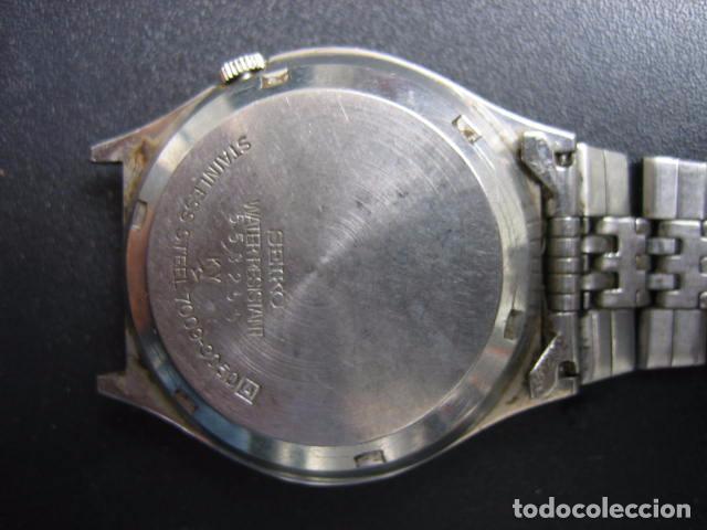 Relojes automáticos: Reloj automático Seiko. Funciona - Foto 6 - 84034360