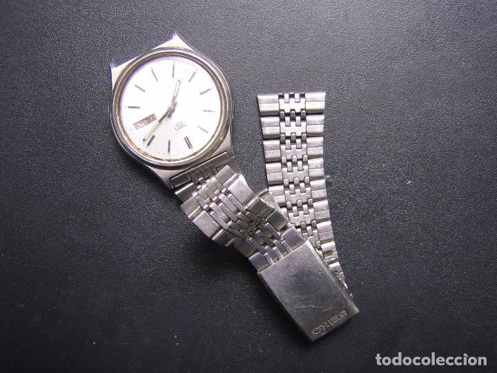 Relojes automáticos: Reloj automático Seiko. Funciona - Foto 9 - 84034360