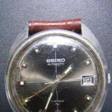 Relojes automáticos: RELOJ AUTOMÁTICO SEIKO. FUNCIONA. Lote 84034776