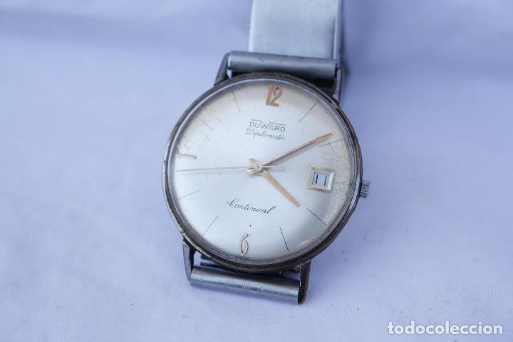 12ff46892516 4 fotos RELOJ DE PULSERA AUTOMÁTICO - DUWARD DIPLOMATIC CONTINUAL (Relojes  - Relojes Automáticos) ...