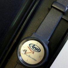 Relojes automáticos: ANTIGUO RELOJ DE COLECCIONISTA DE PUBLICIDAD DE LA RECONOCIDA MARCA DE CASCOS ARAI AÑOS 70 UNICO. Lote 84493704