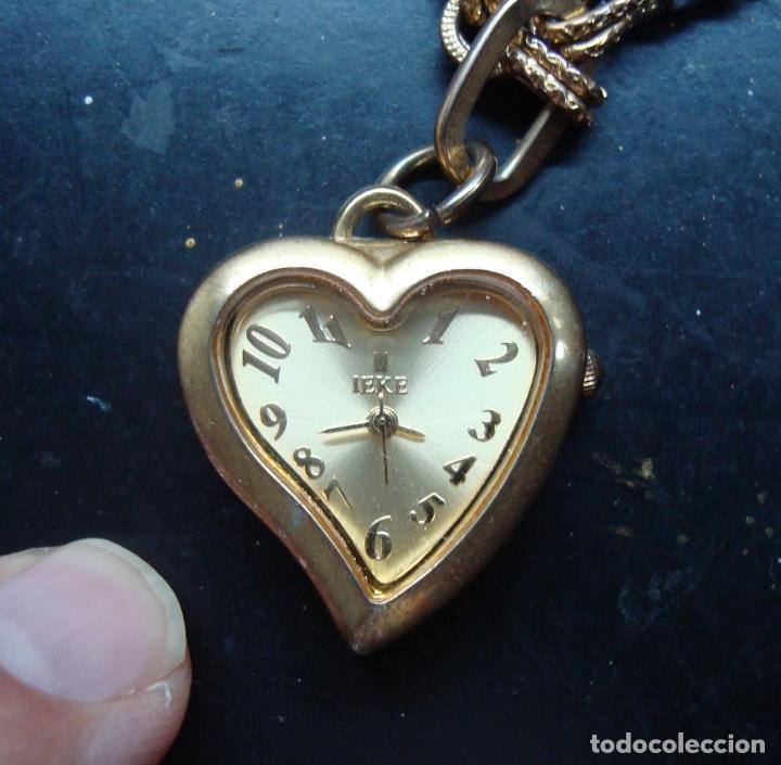 Relojes automáticos: Antiguo reloj a pilas marca Ieke - funciona bien - Foto 2 - 84757920