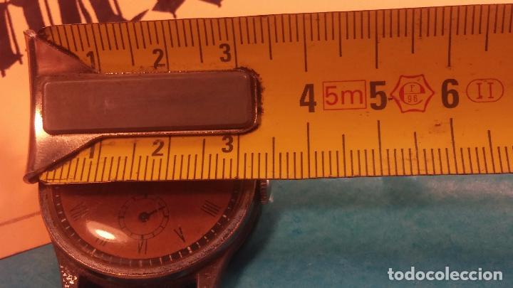 Relojes automáticos: Botito antiguo reloj CAUNY GENEVE 15 RUBIS, de cuerda, funcionando, esfera muy botita, pasador fijo - Foto 18 - 85178232