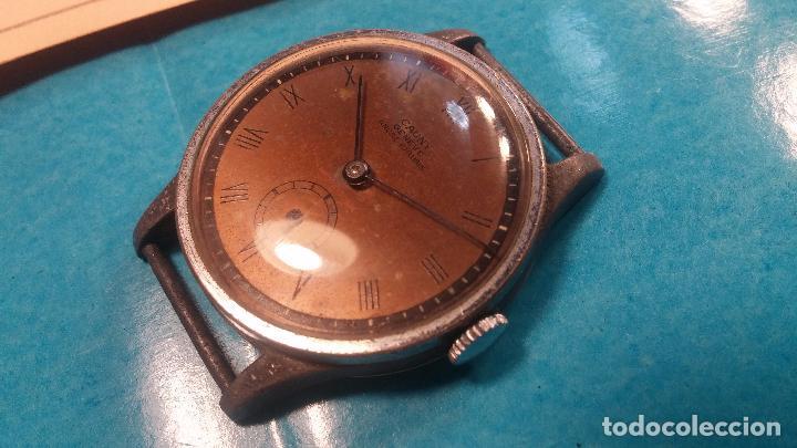 Relojes automáticos: Botito antiguo reloj CAUNY GENEVE 15 RUBIS, de cuerda, funcionando, esfera muy botita, pasador fijo - Foto 20 - 85178232