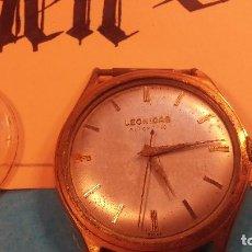 Relojes automáticos: BOTITO, ANTIQUISIMO Y ENORME RELOJ LEONIDAS AUTOMATIC DE CABALLERO, NO FUNCIONA PERO.... Lote 85178620