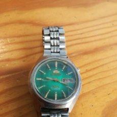 Relojes automáticos: PRECIOSO RELOJ ORIENT AUTOMATICO, AÑOS 70, ESFERA VERDE.. Lote 85695004