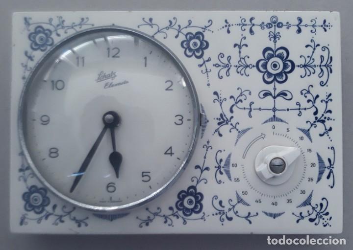 Muy bonito reloj con temporizador de cocina vin comprar - Reloj cocina original ...