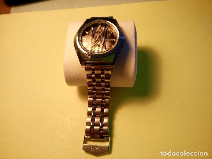 Relojes automáticos: ANTIGUO ORIENT DE LOS 70. 21 R. AUTOMATICO. 39 MM. FUNC. ((( CRISTAL Y PULSERA NUEVOS))). DESCRIP. - Foto 2 - 85986596