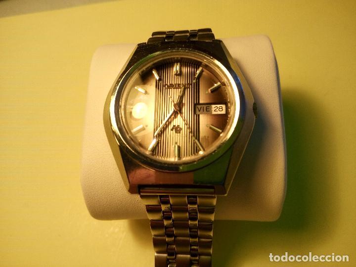 Relojes automáticos: ANTIGUO ORIENT DE LOS 70. 21 R. AUTOMATICO. 39 MM. FUNC. ((( CRISTAL Y PULSERA NUEVOS))). DESCRIP. - Foto 3 - 85986596