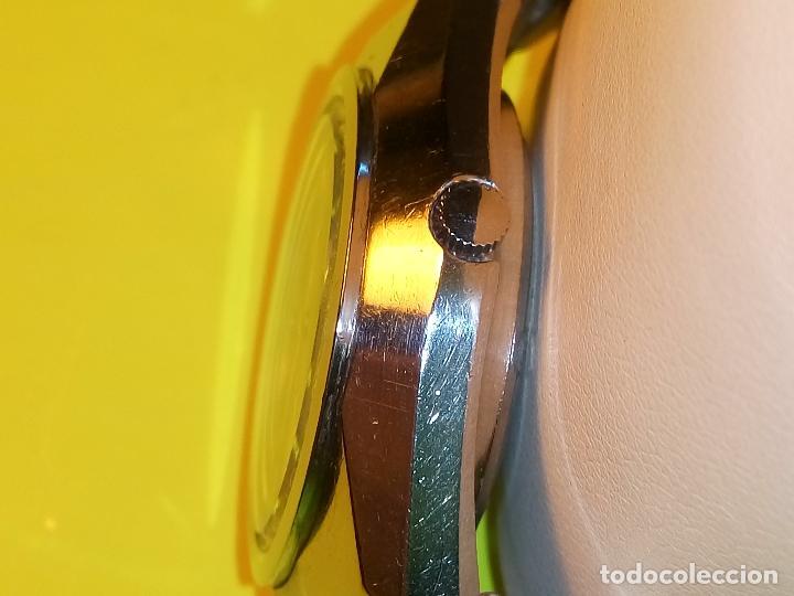 Relojes automáticos: ANTIGUO ORIENT DE LOS 70. 21 R. AUTOMATICO. 39 MM. FUNC. ((( CRISTAL Y PULSERA NUEVOS))). DESCRIP. - Foto 6 - 85986596