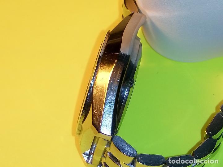Relojes automáticos: ANTIGUO ORIENT DE LOS 70. 21 R. AUTOMATICO. 39 MM. FUNC. ((( CRISTAL Y PULSERA NUEVOS))). DESCRIP. - Foto 7 - 85986596