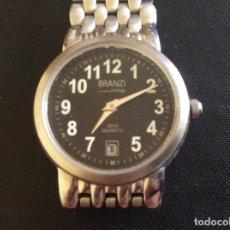 Relojes automáticos: RELOJ DE MUJER BRANZI. ACERO INOXIDABLE. Lote 86031444