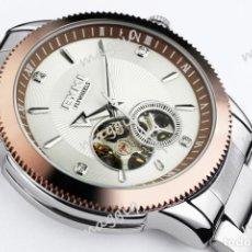 Relojes automáticos: RELOJ AUTOMÁTICO DE CABALLERO MARCA EYKI FLYWHEELS - ENVÍO GRATUITO. Lote 86050148
