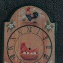 Relojes automáticos: BASE DE MADERA, PARA RELOJ DE COCINA.-. Lote 87660678
