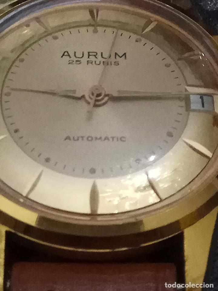 Automático Depulsera Aurum Funcionando Caballero Dorada IncablocPreciosa Reloj Esfera xrdeCBoWQ
