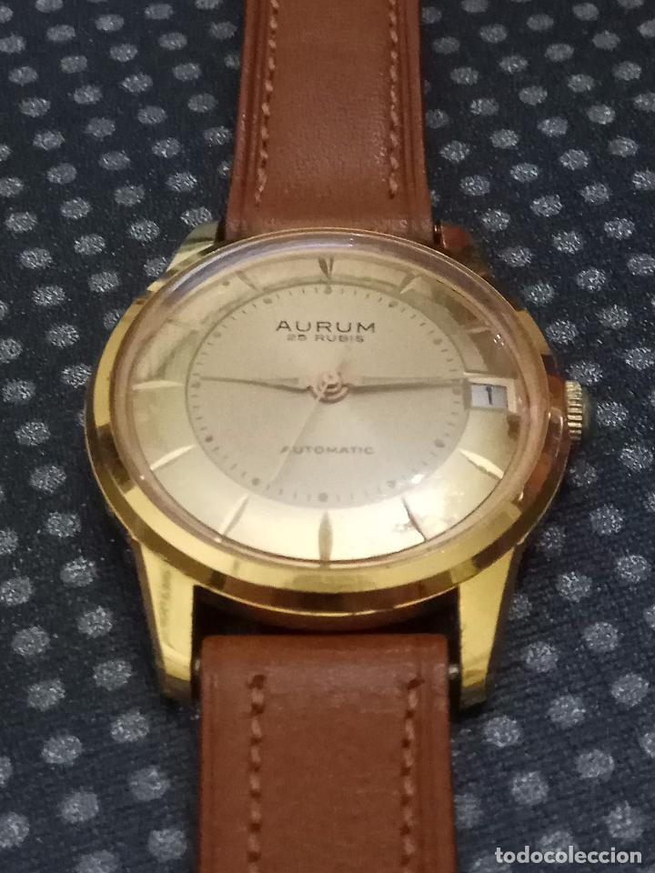 IncablocPreciosa Caballero Dorada Reloj Automático Aurum Esfera Funcionando Depulsera uFKJc3l1T