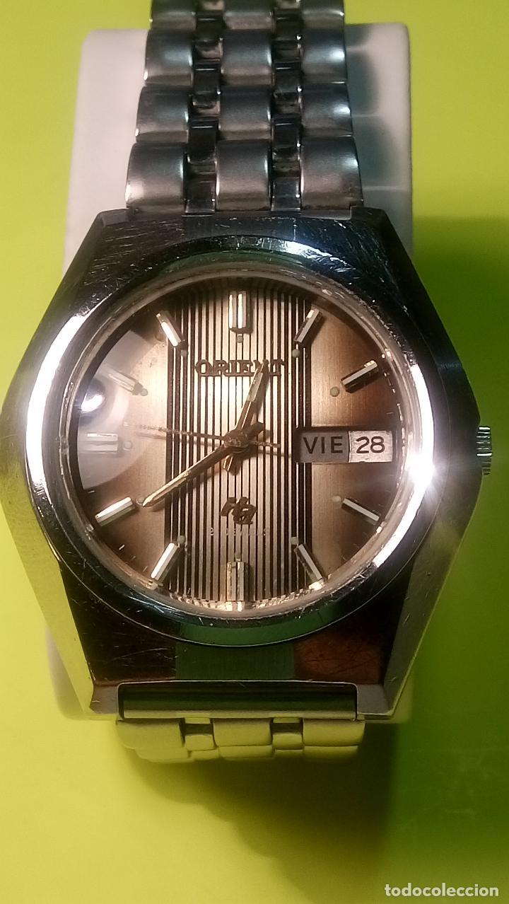 ANTIGUO ORIENT DE LOS 70. 21 R. AUTOMATICO. 39 MM. FUNC. ((( CRISTAL Y PULSERA NUEVOS))). DESCRIP. (Relojes - Relojes Automáticos)