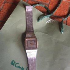Relojes automáticos: RELOJ CABALLERO SEIKO ACERO INOXIDABLE, ANTIGUO.. Lote 89432044