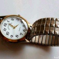 Relojes automáticos: FAMOSO VINTAGE Y DIFICIL RELOJ MARCA JACK & BOSSI CORREA ELASTICA.FUNCIONANDO.MUY BONITO.. Lote 89517760