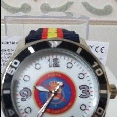 Relojes automáticos: RELOJ MILITAR JUAN CARLOS I. NUEVO A ESTRENAR. CON SU CAJA Y SU PILA .. Lote 89627544