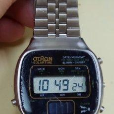 Relojes automáticos: RELOJ DE PULSERA OTRON SOLAR TIME FUNCIONANDO. Lote 89728080