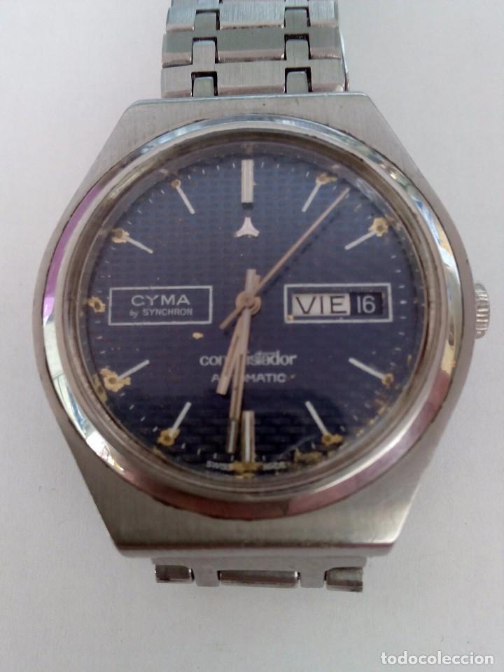RELOJ CYMA AUTOMÁTICO CONQUISTADOR BY SYNCHRON (Relojes - Relojes Automáticos)