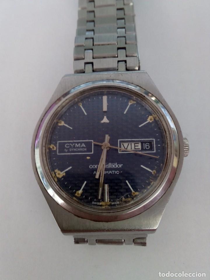 Relojes automáticos: Reloj Cyma Automático Conquistador By Synchron - Foto 2 - 90042708