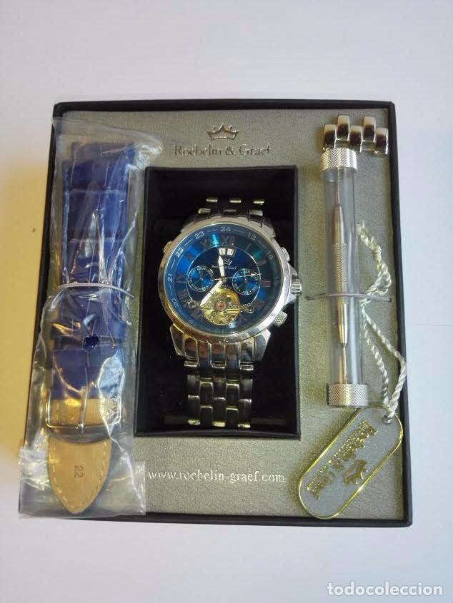 Relojes automáticos: RELOJ R&G KARTAGO - Foto 3 - 90082612