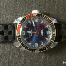 Relojes automáticos: RELOJ 3 THERMIDOR AUTOMÁTICO CALENDARIO 17 RUBIS INCABLOC. Lote 90665595
