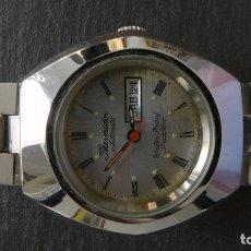 Relojes automáticos: RELOJ 9 THERMIDOR AUTOMATIC CALENDARIO WATERPROF INCABLOC SWISS MADE VINTAGE. Lote 90667690