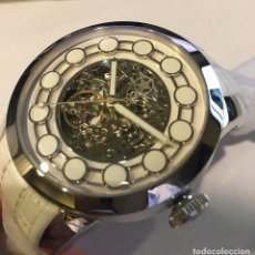 Relojes automáticos: NUEVO WATCHSTAR BLANCO ZEN MASTER AUTOMATIC 40 HOUR POWER RESERVE RELOJ 21 JOYAS. Lote 90773360