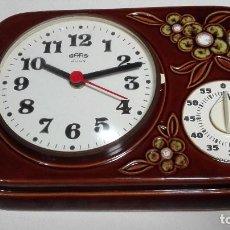 Relojes automáticos: RELOJ COCINA CON TEMPORIZADOR. Lote 90883560