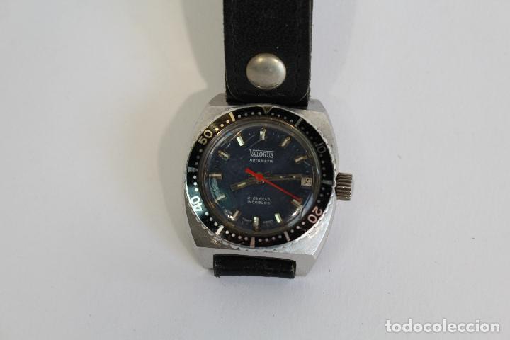 Relojes automáticos: RELOJ ANTIGUO VALORUS AUTOMATIC 21 JEWELS INCABLOC SWISS MADE - Foto 5 - 91297670