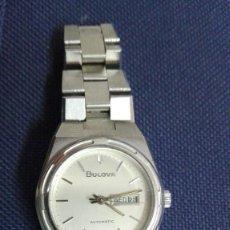 Relojes automáticos: BULOVA. CORREA ORIGINAL. REPASADO Y FUNCIONANDO CORRECTAMENTE. Lote 125831683