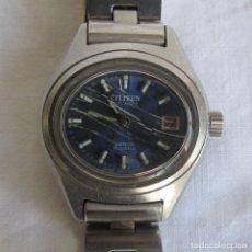 Relojes automáticos: RELOJ AUTOMÁTICO DE SEÑORA CITIZEN FUNCIONANDO. Lote 91641520