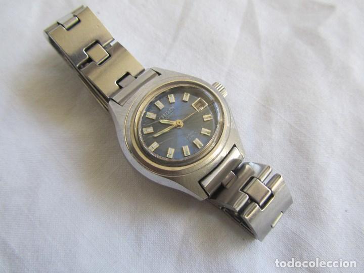 Relojes automáticos: Reloj automático de señora Citizen funcionando - Foto 2 - 91641520