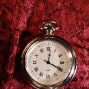 Relojes automáticos: RELOJ DE BOLSILLO MAQUINARIA DE CUARZO - FUNCIONA PERFECTAMENTE. Lote 92239415