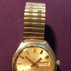 Relojes automáticos: ANTIGUO RELOJ DE PULSERA TITAN. MODELO TENOX. AUTOMATICO. EN FUNCIONAMIENTO. AÑOS 70.SWISS.CABALLERO. Lote 93154670