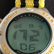 Relojes automáticos: RELOJ TIME FORCE NUEVO CON CAJA. Lote 95223835